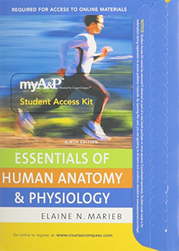 MyA&P Student Access Kit CourseCompass: For Essentials of Human Anatomy & Physiology