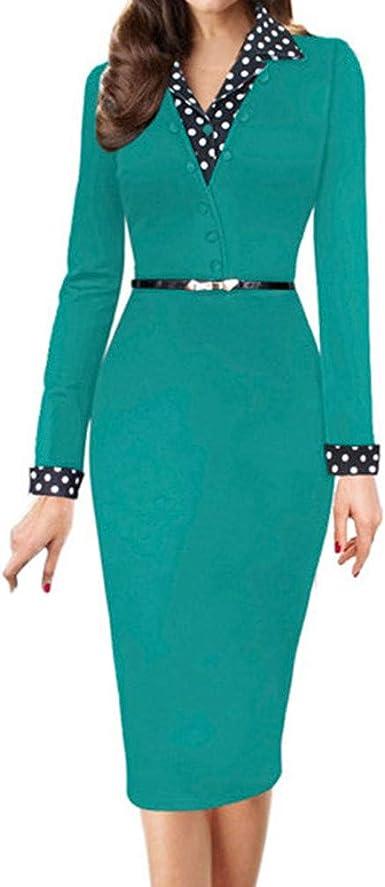 """Zhen+ damska formalna sukienka czarna jednoczęściowa sukienka ołÓwkowa do pracy koktajlowa na imprezę ciało sukienka z okrągłym dekoltem długi rękaw wesele sukienka dla go"""""""