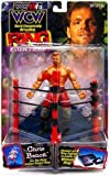 WCW NWO Wrestling Action Figure Ring Fighting Chris Benoit