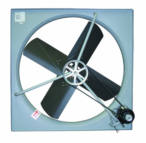 Single Phase Belt Drive Blower (TPI Corporation CE-36-B Commercial Exhaust Fan, Single Phase, 36