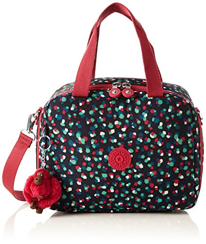 Kipling Miyo Lunchbag With Trolley Sleeve Festive Camo