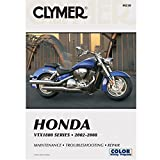 CLYMER HONDA VTX1800 SERIES 2002-2008 *MAINTENANCE *TROUBLESHOOTING *REPAIR