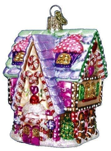 Old World Christmas Ornaments: Cupcake Cottage Glass Blown Ornaments for Christmas Tree