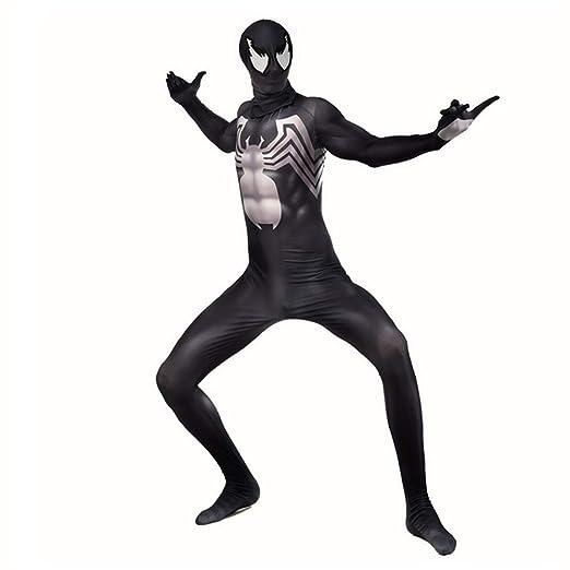 ZHANGQI Venom Symbiote Spiderman Cosplay Body Anime Traje Adultos ...