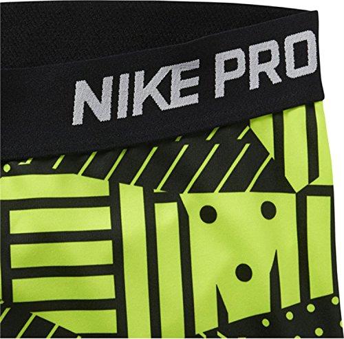 Nike Women's Pro Patch Werk panty's, Volt