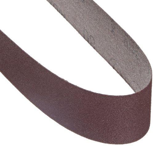 3M Cloth Belt 341D, Aluminum Oxide, 2'' Width x 48'' Length, 80 Grit, Brown (Pack of 50) by 3M