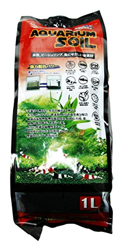 Mr. Aqua N-MAR-066 1 L Fine Pet Habitat Water Plant Soil (Best Soil Substrate For Planted Aquarium)