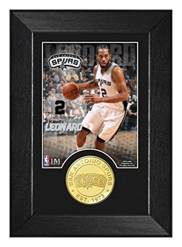 - NBA San Antonio Spurs Kawhi Leonard 5x7 Coin Mini Photo Mint, 9