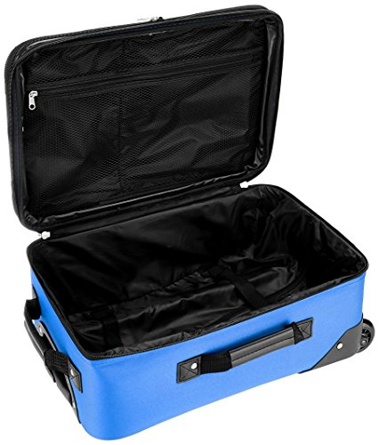 Rockland Luggage 2 Piece Set, Blue, One Size