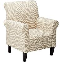 Christopher Knight Home 237313 Bigalow Club Chair, Beige Zebra