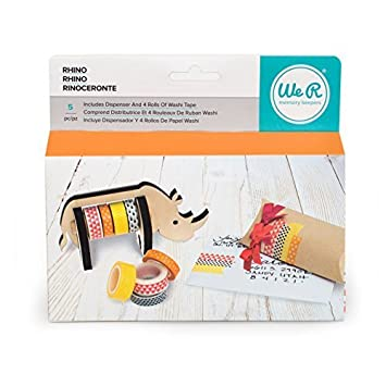 We R Memory Keepers American Crafts Washi Tape Dispenser Rhino by We R Memory Keepers