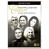 Country Legends In Concert - 2 DVD Set by Zestify by Bellamy Brothers, Boxcar Willie, Charlie Rich, Denise Price, Faron Young, Freddy Fender, Gary Morris, Gayle Davies, George Jones, Helen Cornelius, Jeannie C. Riley, Atlanta