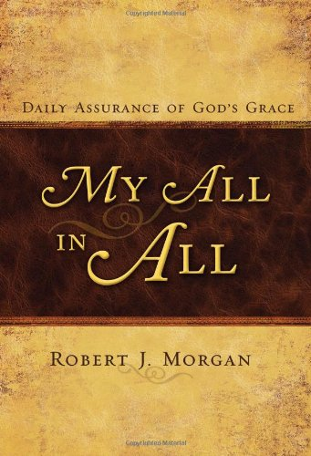 My All in All: Daily Assurance of God's Grace PDF