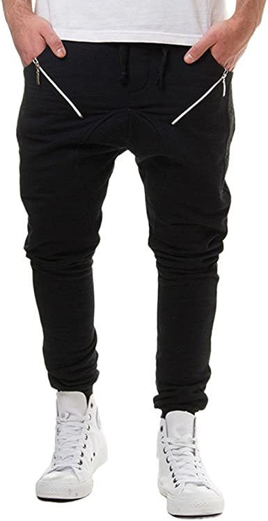 MOVERV Pantalón de Chándal Otoño Moda para Hombre,Pantalones de ...