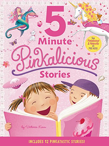 Pinkalicious: 5-Minute Pinkalicious Stories: Includes 12 Pinkatastic Stories! by HarperCollins (Image #1)