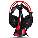 513AOl4jRvL. SL160  - Aobiny New General Earphone Bracket Headphones Mount Stand Headset Hook Powerful Paste (red)