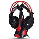 Aobiny New General Earphone Bracket Headphones Mount Stand Headset Hook Powerful Paste (red)