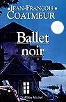 Ballet noir broche par Coatmeur
