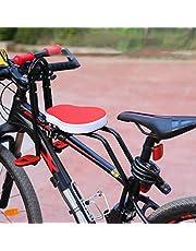 Honeyhouse Barncykelsadel   Barnsäkerhetshållare främre montering babystol med armstöd och fotpedaler   justerbar säkerhetsstol för barn spädbarn småbarn (upp till 41 kg)
