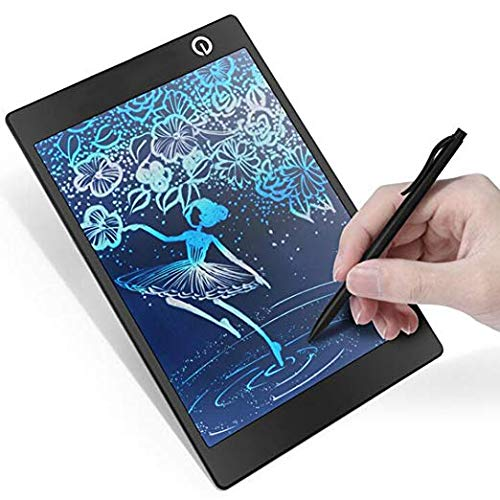 LivePow 9.7 Inch LCD Colorful Writing Tablet/Message Board/Screen Handwriting Pad Paperless Drawing Writing Tool Graffiti Board with Stylus and Stand for Kids, Family Memo, Office Writing