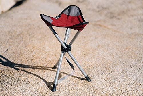 TravelChair Slacker Chair, Super Compact, Folding Tripod Camping Stool Renewed