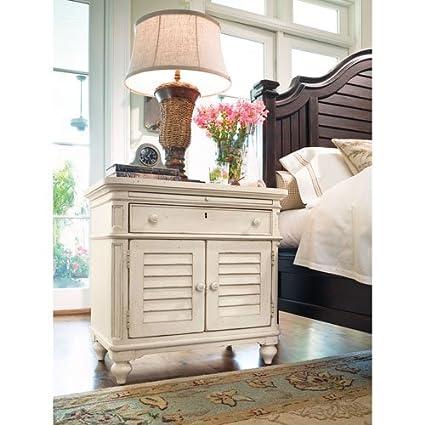 Paula Deen Home Door Nightstand, Linen