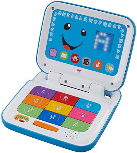 (Fisher-Price Laugh & Learn Smart Stages Laptop, Blue/White)