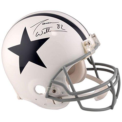 JASON WITTEN Dallas Cowboys Autographed Riddell Throwback 1960-1963 Pro-Line Helmet FANATICS 1960 Authentic Throwback Helmet