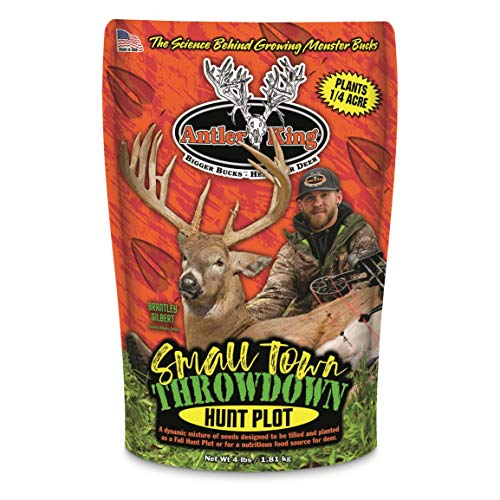 Antler King Small Town Throwdown Food Plot Seed (Easy To Grow Food Plots For Deer)