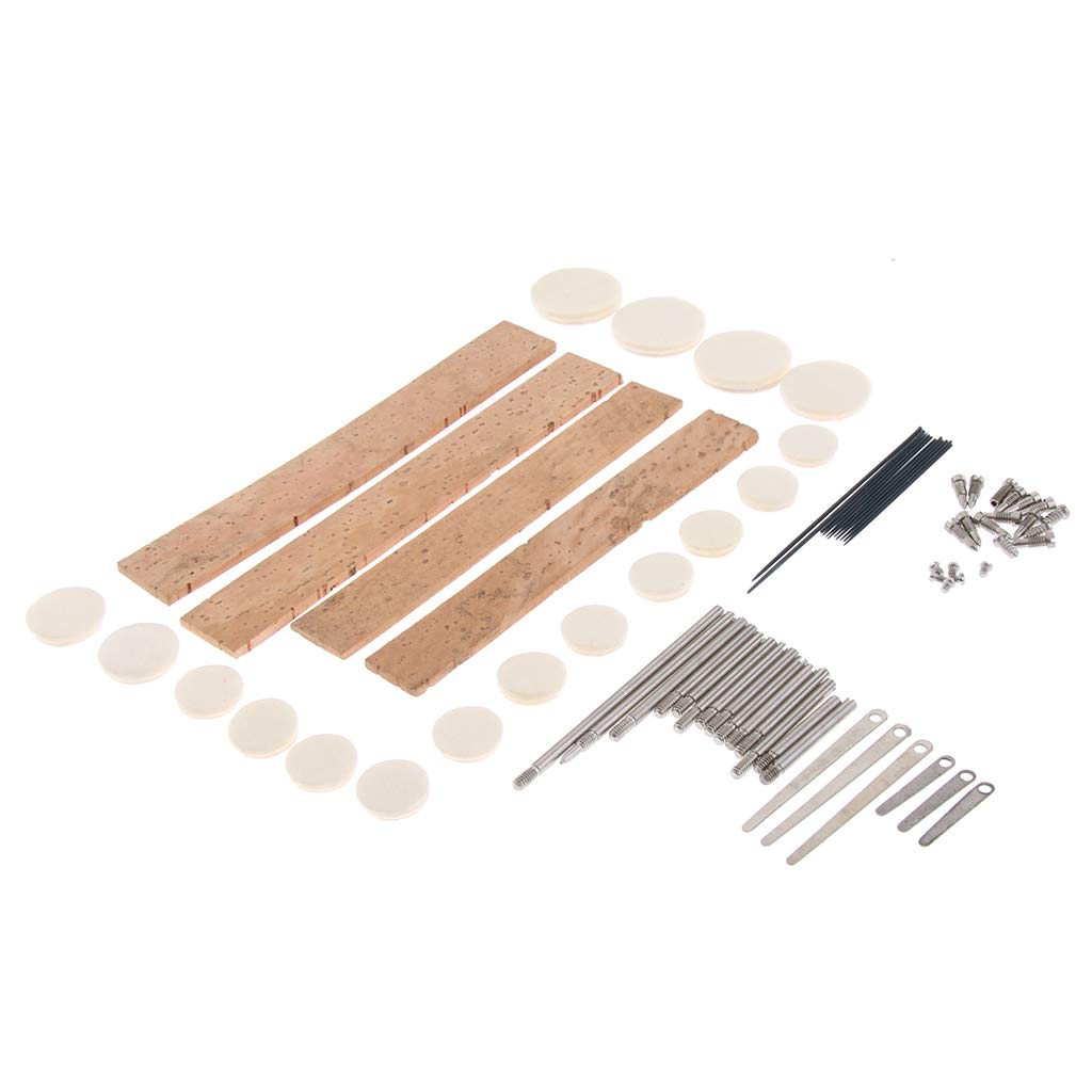 gazechimp 1x Clarinet Repair Maintenance Kit For Woodwind Instrument Parts