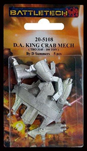 BATTLETECH 20-5108 King Crab KGC-0009 King Crab Weight