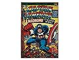 Marvel Captain America Children Kids Rug Carpet Mat (4'6''x6'6'')