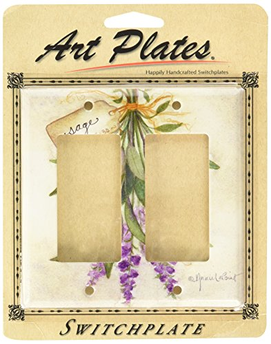 Art Plates - Sage Switch Plate - Double - Rocker Sage
