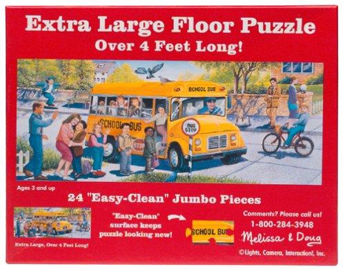 School Bus Floor Puzzle 24