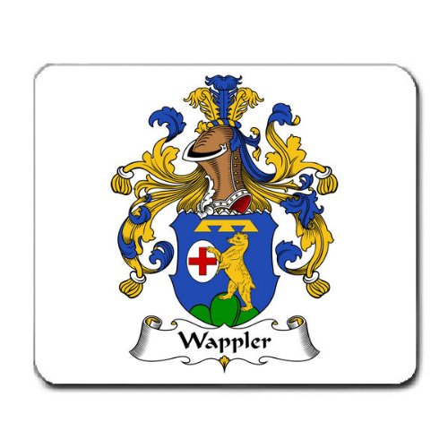 Wappler Family Crest Coat of Arms Mouse Pad
