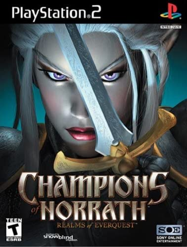 Amazon com: Champions of Norrath - PlayStation 2: Artist Not
