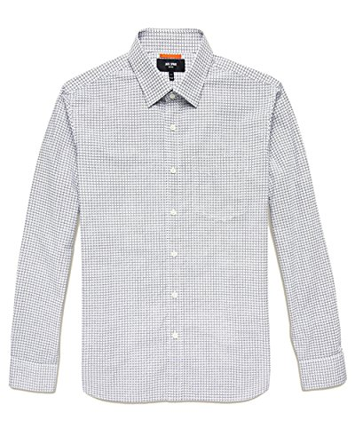 Jack Spade Men's Marrakech Print Poplin Shirt (White, Medium) by Jack Spade