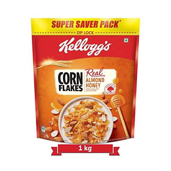 Kellogg's Corn Flakes Real Almond and Honey, 1 kg
