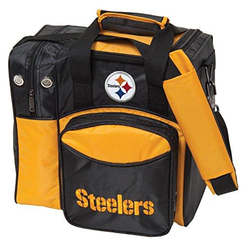 (KR Strikeforce Pittsburgh Steelers Single Bowling Bag, Multicolor)