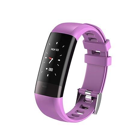 Eruditter Reloj Inteligente con Pantalla A Color Impermeable IP67 con Frecuencia Cardíaca, ECG, Pulsera