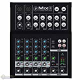 Mackie Mix8 8-Channel Compact Mixer with 1 Year EverythingMusic Extended Warranty Free