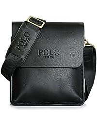 Men's Messenger Bags Classic Vintage Leather Shoulder Crossbody Bag Business Briefcase Casual Bag