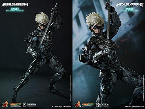 "Hot Toys Metal Gear Rising Revengeance Video Game Raiden 1/6 Scale 12"" Figure"