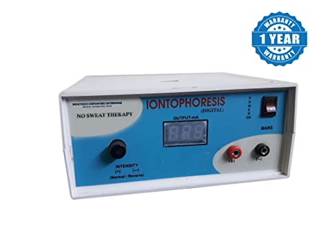Indetouch Iontophoresis Machine For Hand And Feet Hyperhidrosis Treatment  (Full Set With Accessories)
