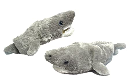 Shark Slippers Plush Toy