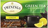 Twinings Tea Lemon Green Tea,...