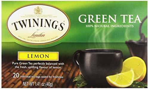 Twinings Tea Lemon Green Tea, 20 ct (Twinings Lemon Tea)