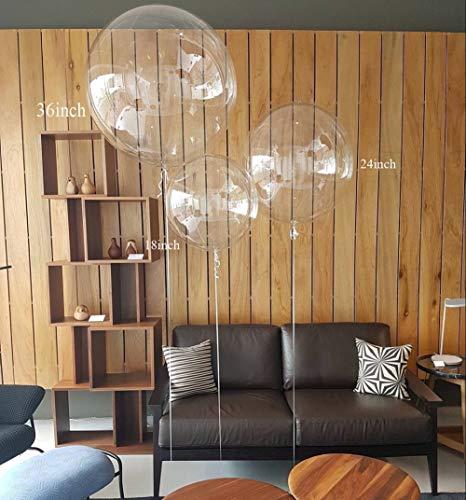 Round Bubble Balloons Transparent (100pcs, 10inch)