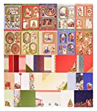 #9: Hunkydory Classic Christmas Luxury Card Kit | Makes at Least 20 Unique Cards