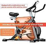 Tribesigns-Cyclette-Speed-Bike-ergometro-con-Trasmissione-a-Cinghia-Display-LCD-e-sensori-pulsazioni-Fitness-Bike-Fitness-Bike-Indoor-Cycling